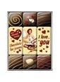 Nostalgic Art I Love You Chocolate Magnet Set 9P Renkli
